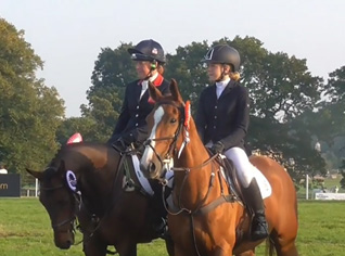 Osberton 2015 CCI** Mollie with Pippa